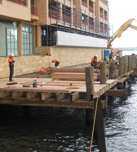 Park Hyatt Boardwalk Reconstruction